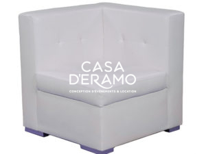 White Royal Sectional Corner